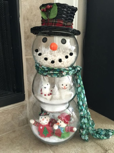 christmas fishbowl snowman image source