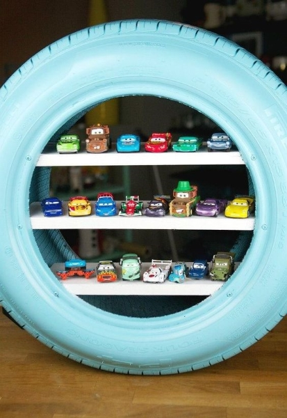 50 diy recycled tire projects to beautify your home pink lover image source solutioingenieria Images