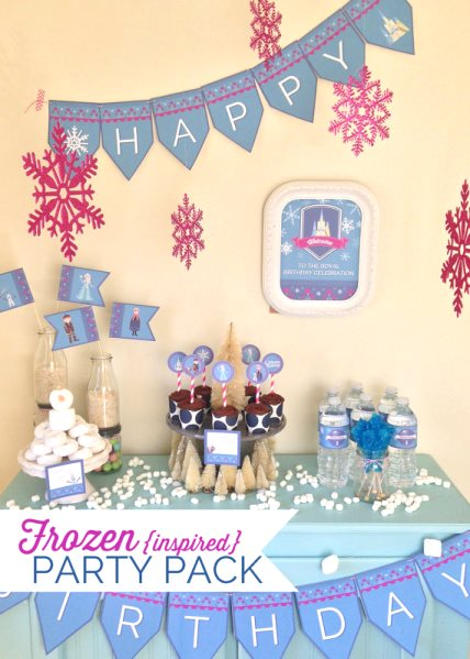 Frozen Birthday Party Ideas Pink Lover