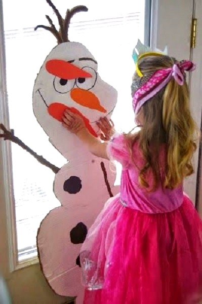 frozen-olaf-pin-the-nose-game
