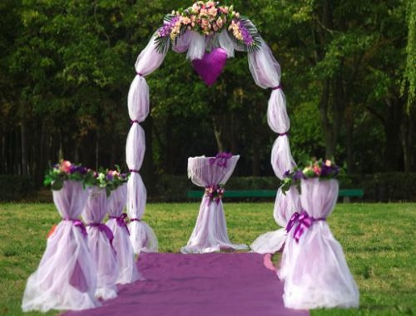 60 Best Garden Wedding Arch Decoration Ideas - Pink Lover