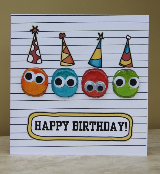 Handmade Birthday Cards Pink Lover – Birthday Cards Children