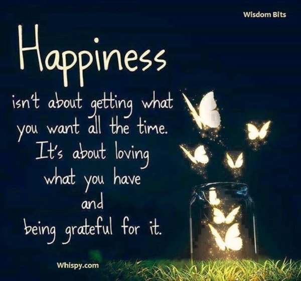happinessgratefulness