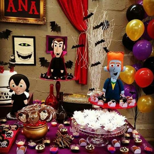 Spooky Hotel Transylvania Birthday Party Ideas Pink Lover