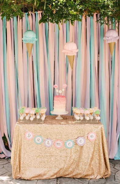 60 Ice Cream Birthday Party Ideas Pink Lover