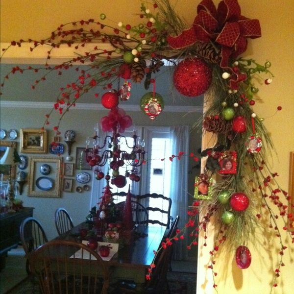 Best indoor christmas decorating ideas 2016 pink lover for Pictures of indoor christmas decorations