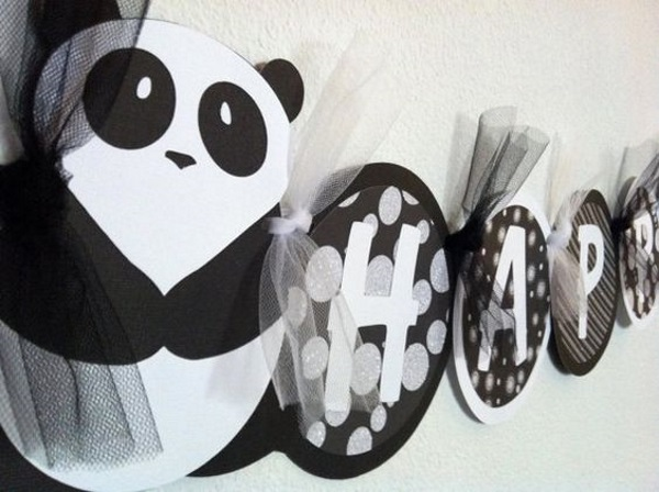 60 kung fu panda birthday party ideas pink lover for Panda bear decor