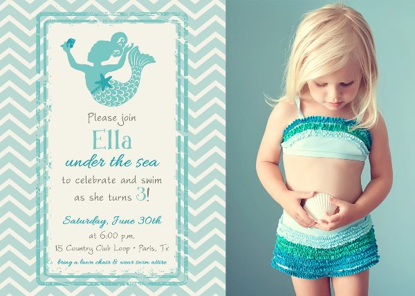Little Mermaid Birthday Party Ideas Pink Lover