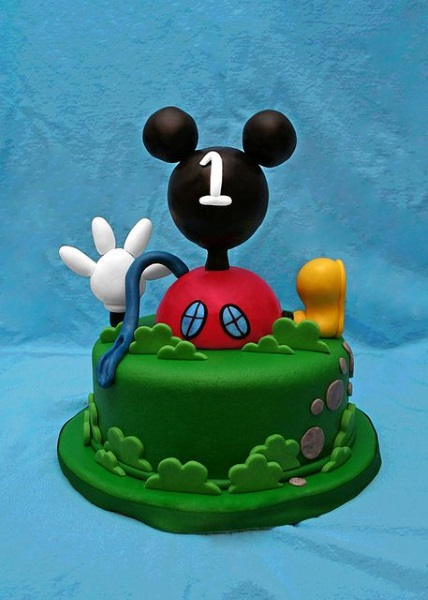 mickeymousebirthdaycakedesigns Pink Lover
