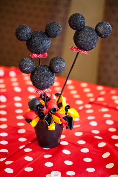 Mickey mouse birthday party ideas pink lover