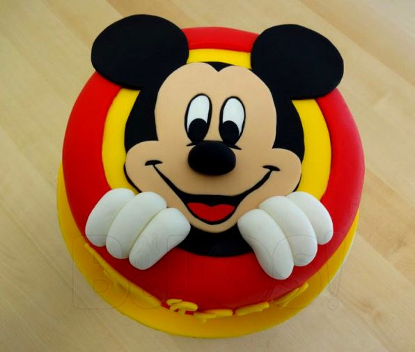 Larva Cartoon Cake Design : Mickey Mouse Birthday Party Ideas - Pink Lover