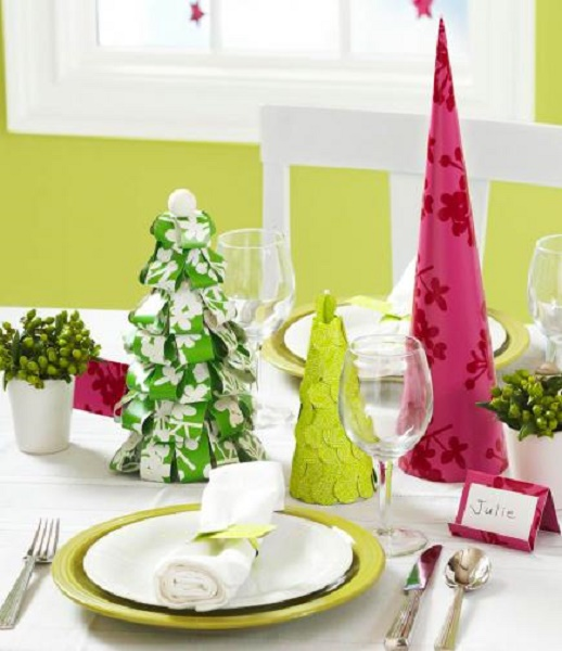 Best christmas centerpiece ideas pink lover