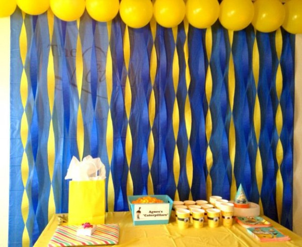 Minion Despicable Me Birthday Party Ideas Pink Lover