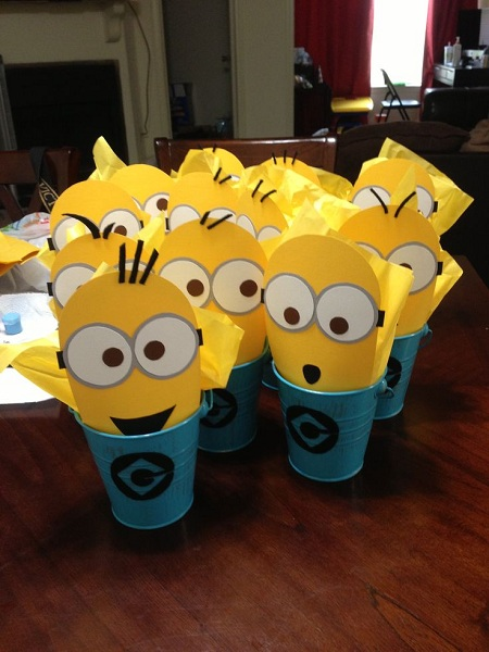 Image Source Minion Birthday Party Food Ideas