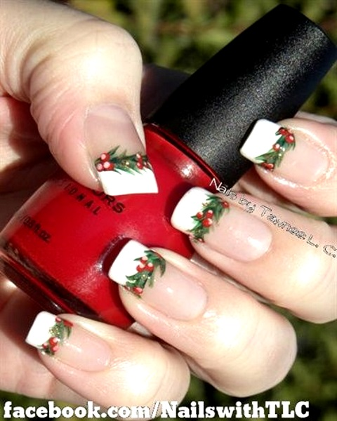 Best christmas nail art designs pink lover image source image source image source christmas light nail art design prinsesfo Image collections