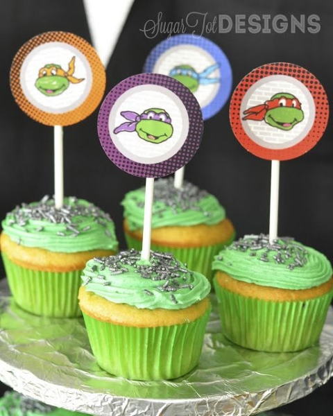 Teenage Mutant Ninja Turtle Birthday Party Ideas Pink Lover