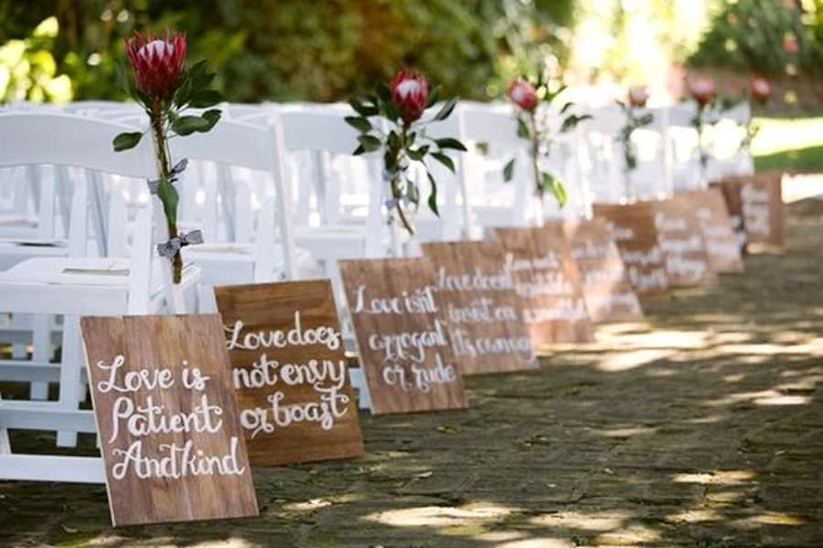 50 best garden wedding aisle decorations pink lover image source junglespirit Image collections