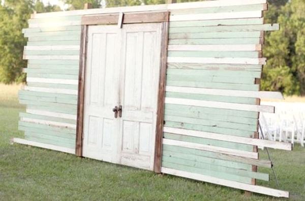 image source outdoor-wedding-door-ideas-for-entrance & 43 Best Outdoor Wedding Entrance Ideas - Pink Lover