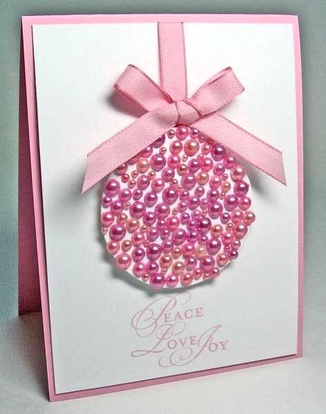 Creative diy christmas card ideas 2016 pink lover - Targetas de navidad originales ...