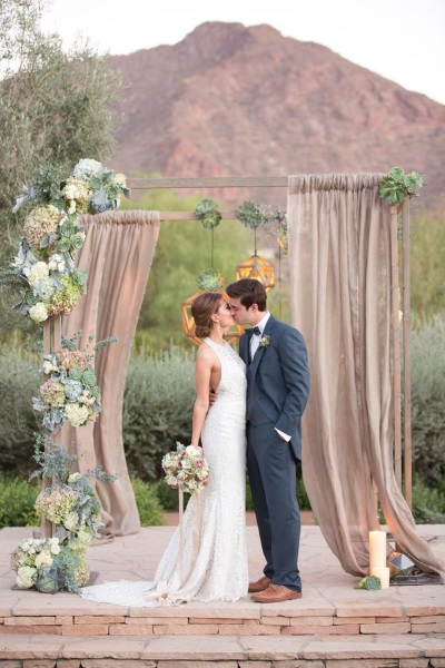 60 best garden wedding arch decoration ideas pink lover image source image source junglespirit Choice Image