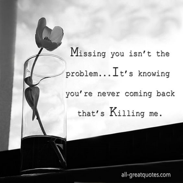 Sad I Miss U Quotes: 50 Quotes To Say I Miss You