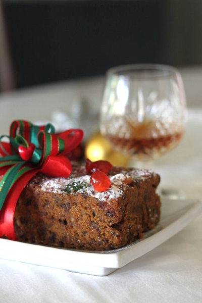 Easy Christmas Cake With Brandy