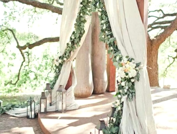 12 Ideas For The Best Outdoor Wedding: 43 Best Outdoor Wedding Entrance Ideas