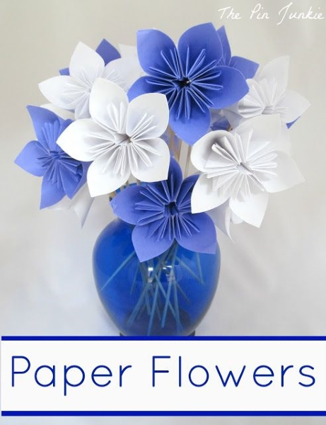 Diy paper flower crafts and projects pink lover image source image source paper flowers mightylinksfo