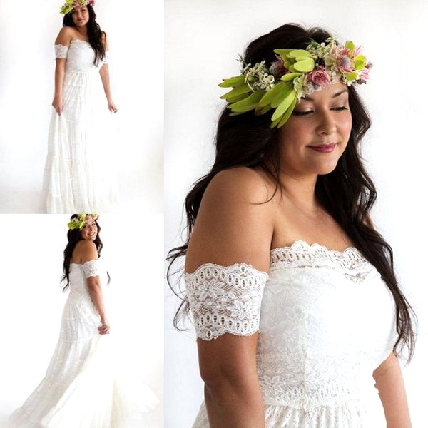 50 Beautiful Plus Size Wedding Gowns