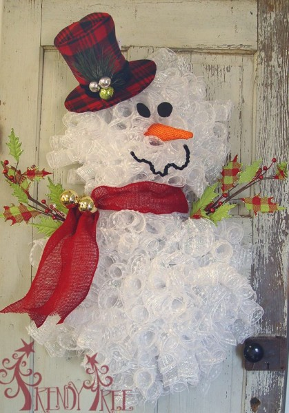 snowman-christmas-wreath