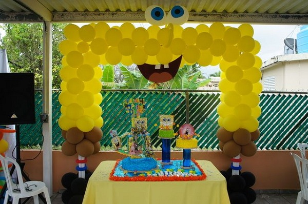 spongebobbirthdaypartydecorationsandballoons Pink Lover