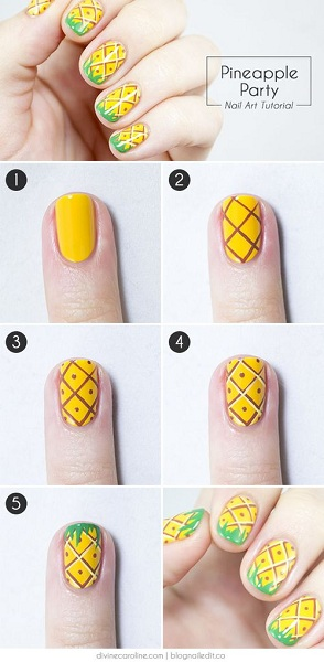 Spongebob Nail Art Designs 2 Pink Lover