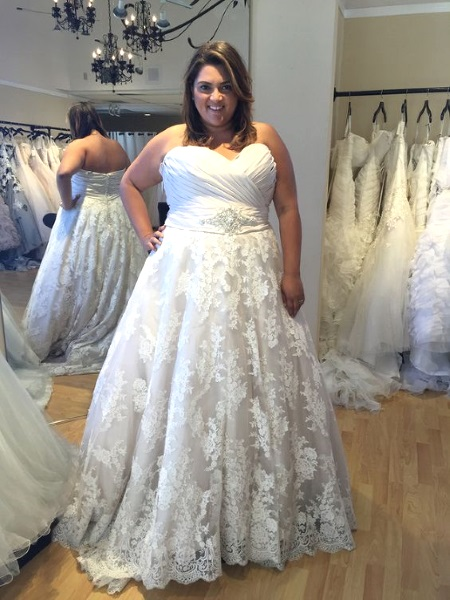 50 Beautiful Plus Size Wedding Gowns - Pink Lover