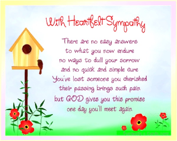 Sympathy card messages quotes and sayings pink lover image source image source m4hsunfo