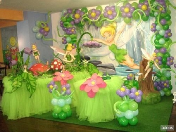 Tinkerbell Fairy Birthday Party Theme Ideas