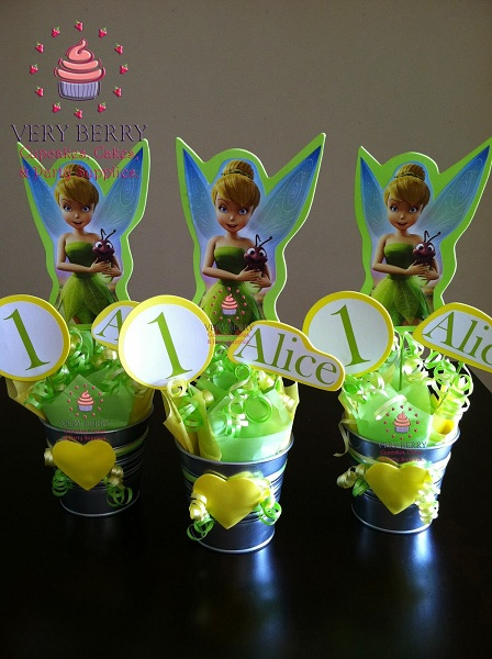 Tinkerbell Fairy Birthday Party Centerpiece Here Are Some Wonderful Centerpieces To Brighten Up The Mood Of