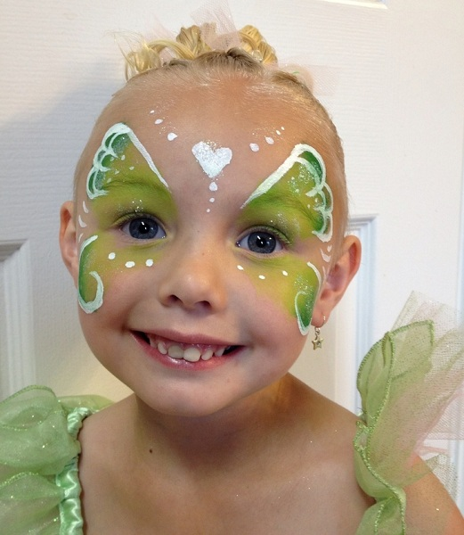 Simple Disney Face Painting Ideas