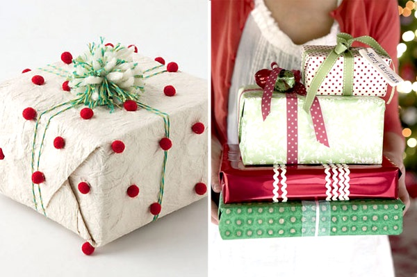 Creative Christmas Gift Wrapping Ideas - Pink Lover