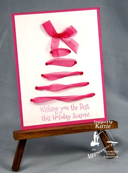 50 best diy christmas cards ideas pink lover for Christmas ideas for christmas cards
