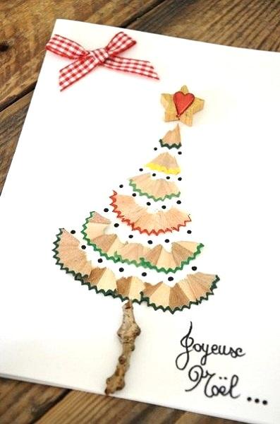 Image Source Rustic Snowflakes DIY Christmas Card