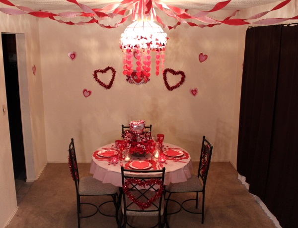 Diy valentines day decoration ideas pink lover - Valentine day room decoration ...