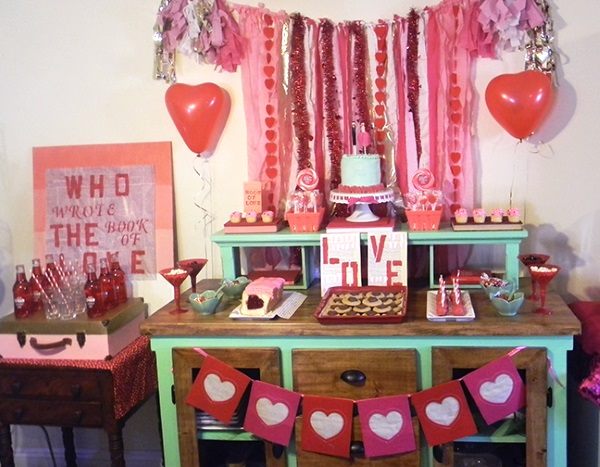 Diy Valentines Day Decoration Ideas Pink Lover