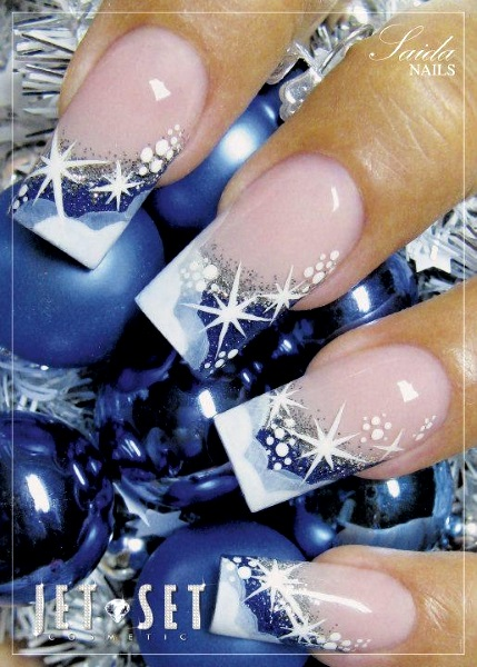 Best christmas nail art designs pink lover image source prinsesfo Gallery