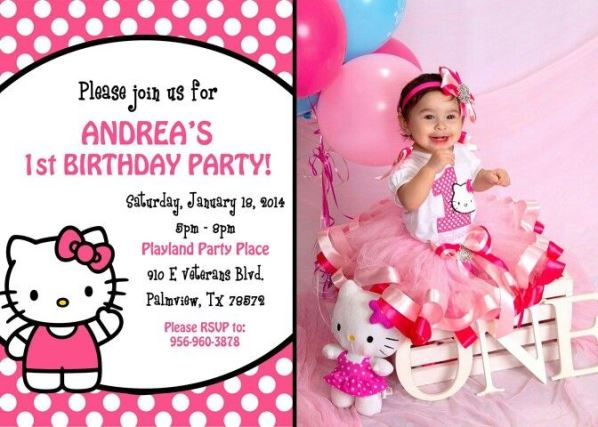 hello kitty birthday party ideas invitations Minimfagencyco