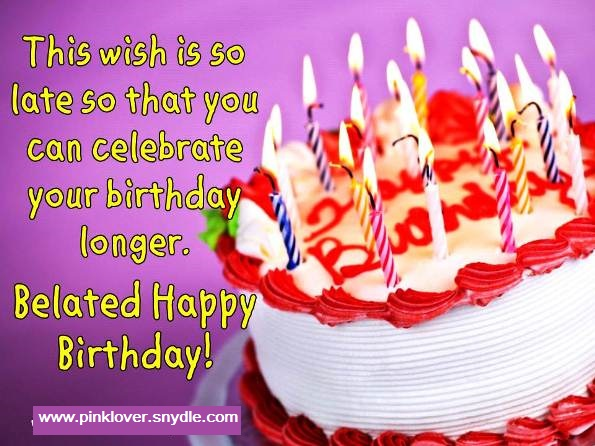 Happy Birthday Wishes and Greetings Pink Lover