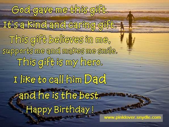 Happy Birthday Wishes Daddy ~ Birthday wishes for dad pink lover