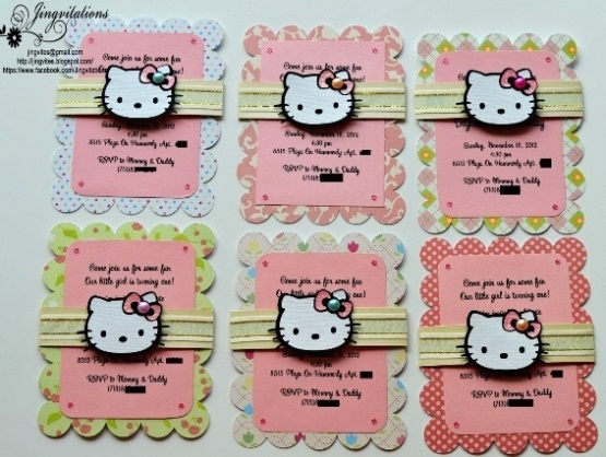Hello kitty party invitation ideas homemade hello kitty birthday party ideas pink lover filmwisefo