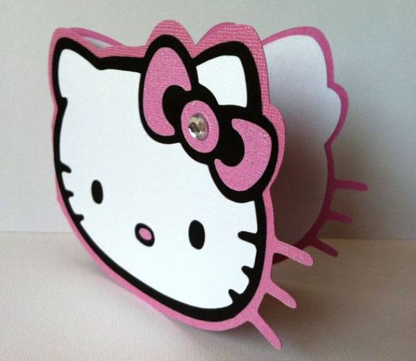 hello kitty birthday invite Intoanysearchco