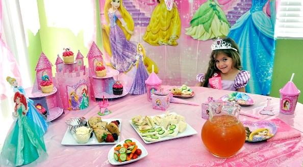 ... Princess Birthday Party celebration. image source  sc 1 st  Pink Lover & Disney Princess Birthday Party Ideas - Pink Lover