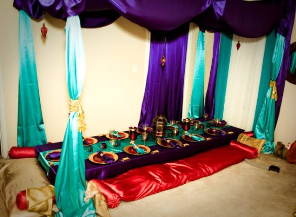 Princess Jasmine Birthday Party Decoration Ideas Image Source